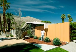 Chris Menrad in Twin Palms, Architect William Krisel